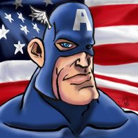 Captain America by amydrewthat