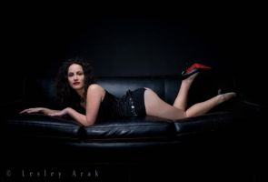 Amanda on the couch... by khavi