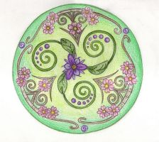 Buds of Spring by Spiralpathdesigns