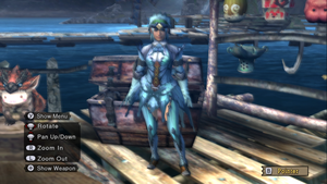 My mh3 character fashion set. by sstteevveenn