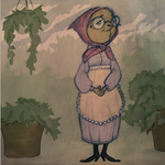 Little Old Lady by SerpentineDoves