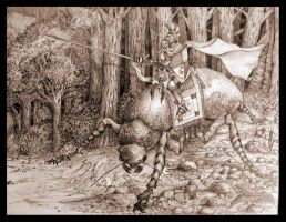 Beettle rider by Pintoro