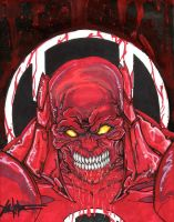 Atrocitus Red Lantern by ChrisOzFulton