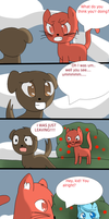 Legend Of Love And Blue Page 10 by TheMidnightPuppeteer