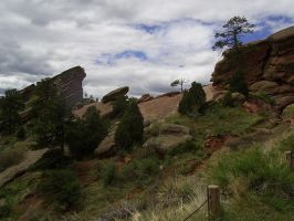 Red Rocks Stock 5 by chamberstock