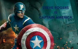 Steve Rogers Is Captain America by StarfallVulpixGirl