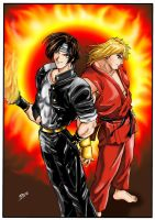 Kyo and Ken by Varges