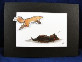 The quick brown fox by valandelle