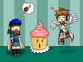 Food - Ike and Pit by roseannepage