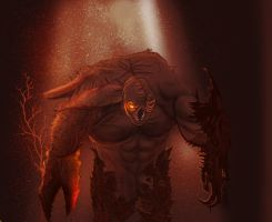 resident evil moster by crossing636