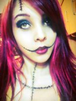 Sally (Make-up of halloween) by VallLondon