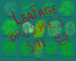 Leafage Paint Tool SAI brushes by L1ghttAng3ll
