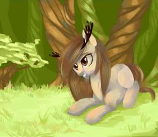 Forest pony by crViLu