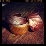 Copper Bracelets by sarahredhead