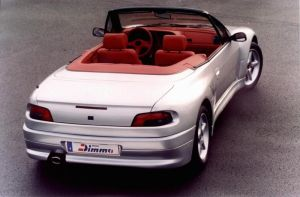 Peugeot 306 Cabrio Dimma Rear by ko3er