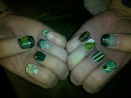Alchemy Spring Nails by XOMBIE-OCTOPUS-QUEEN