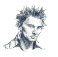 Matthew Bellamy in the early days of Muse by KaLa89