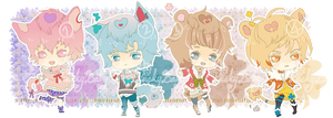 OTA : Lucky Baby Species Set 1 [CLOSED] by HyRei