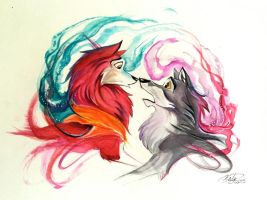 45- Balto and Jenna by Lucky978