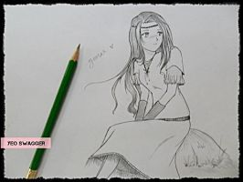 just a plain drawing. by yeorae