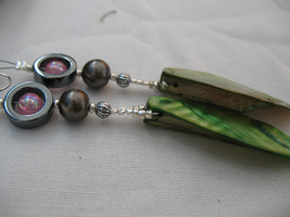 Crafted Nacre Earrings 4 by sampdesigns