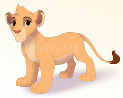 The Lion Guard - Tiifu by MonochromeSanctuary