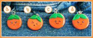 Orange Charms by KatHart