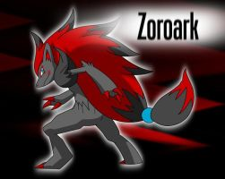 Zoroark Wallpaper by kasaibou