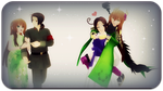 APH: Double Date by thebigblackdevil5