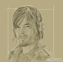 Daryl Dixon (The Walking Dead by LogicalOperator