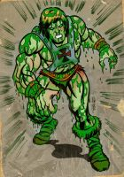 SLIME PIT HE-MAN by ChrisFaccone