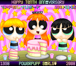 Happy Tenth Anniversary, PpG by ppgrainbow
