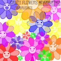Crazy Daisies by neverhurtno1