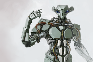 Robot 1 by UnccleUlty