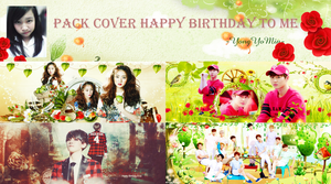 [Cover Facebook Pack] Happy 14th Birthday To Min!~ by YongYoMin