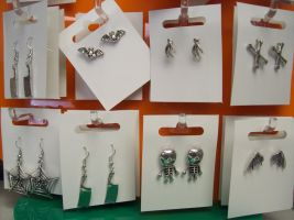 Earrings For Those of Wicked (?) Mind... by uglygosling