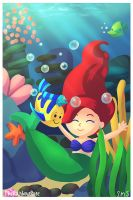 Ariel by TheRainbowRose