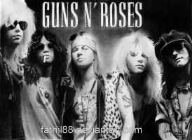 guns n' roses by fathil88