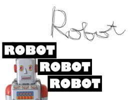 Robot by dhilaemon