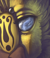Blood Gold's Eye by DimeSpin
