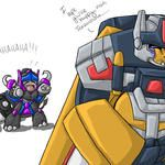 Onoes, TFMpreg is afoot XD by Autobot-Windracer