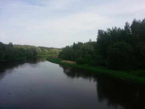 river and forest by Egle4