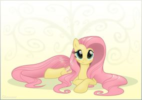Just Fluttershy WP by sherwoodwhisper