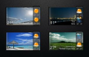 Boss Weather 4 for xwidget by jimking