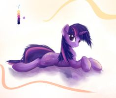 Twilight (palette challenge) by ScootieBloom