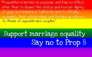Proposition 8 Banner by Sunset-Trails