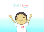God is Love by chloefaith