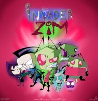 Invader Zim by W-i-n-g-e-d