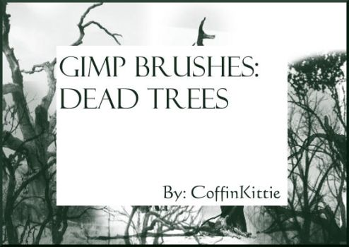 Gimp Brushes: Dead Trees by daydreamkitten