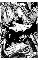 BATMAN 700 by David Finch by knockmesilly